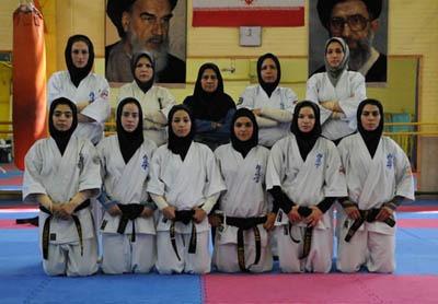 درخشش بانوان رزمی کار نجف آباد در مسابقات کاپ آزاد قهرمانی استان