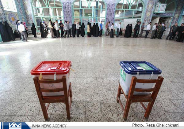 حماسه انتخابات نجف آباد از نگاه دوربین رضا قلیچ خانی