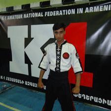 قهرمانی ورزشکار نجف آبادی در رقابت های بین المللی ارمنستان