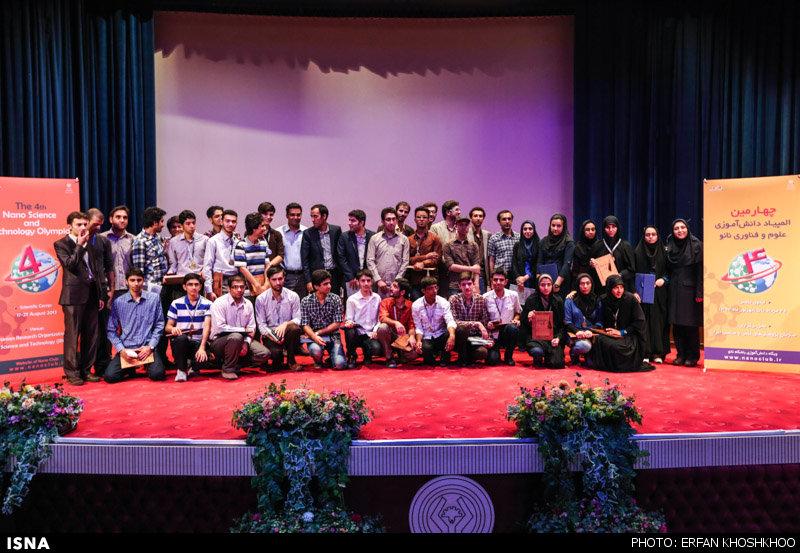 دانش آموز نجف آبادی رتبه سوم المپیاد دانش آموزی نانو را کسب کرد