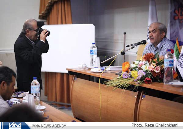 گزارش تصویری کنفرانس خبری شهردار نجف آباد
