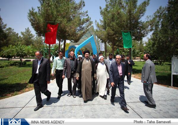 حسن خمینی در ۶۷ اجلاس سراسری دانشگاه آزاد در نجف آباد