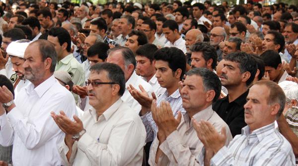 پرشکوه ترین نماز جمعه سال نجف آباد