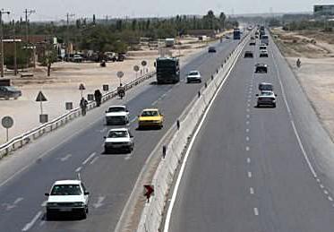 احداث باند سوم بزرگراه نجف آباد به تیران