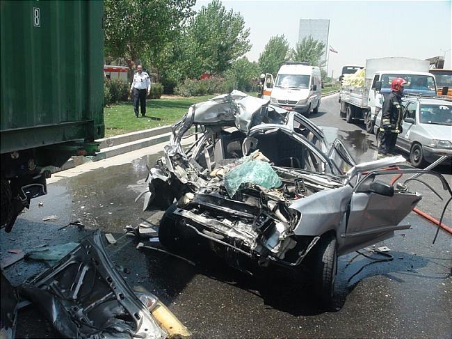 یک کشته در تصادف جاده اصفهان – نجف آباد