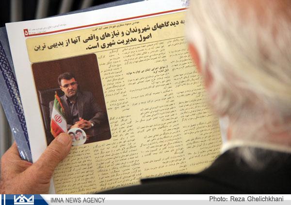 گزارش تصویری از تودیع و معارفه شهرداران قدیم و جدید نجف آباد