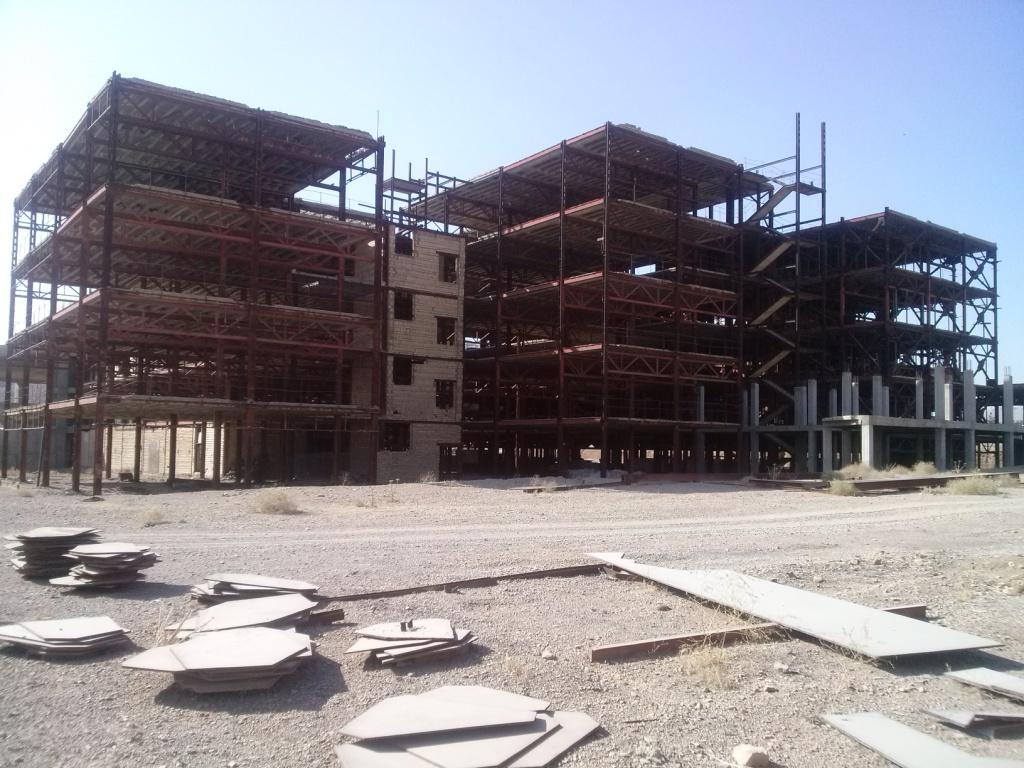 احیاء بیمارستان دانشگاه آزاد نجف آباد