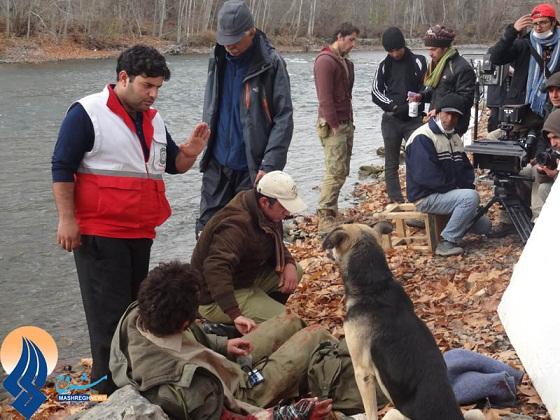 سگ تجسس هلال احمر نجف آباد در فیلم جدید پور احمد