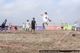نجف آباد سومی هندبال ساحلی کشور را کسب کرد