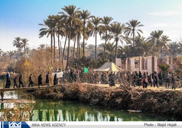 گزارش تصویری از پیاده روی اربعین