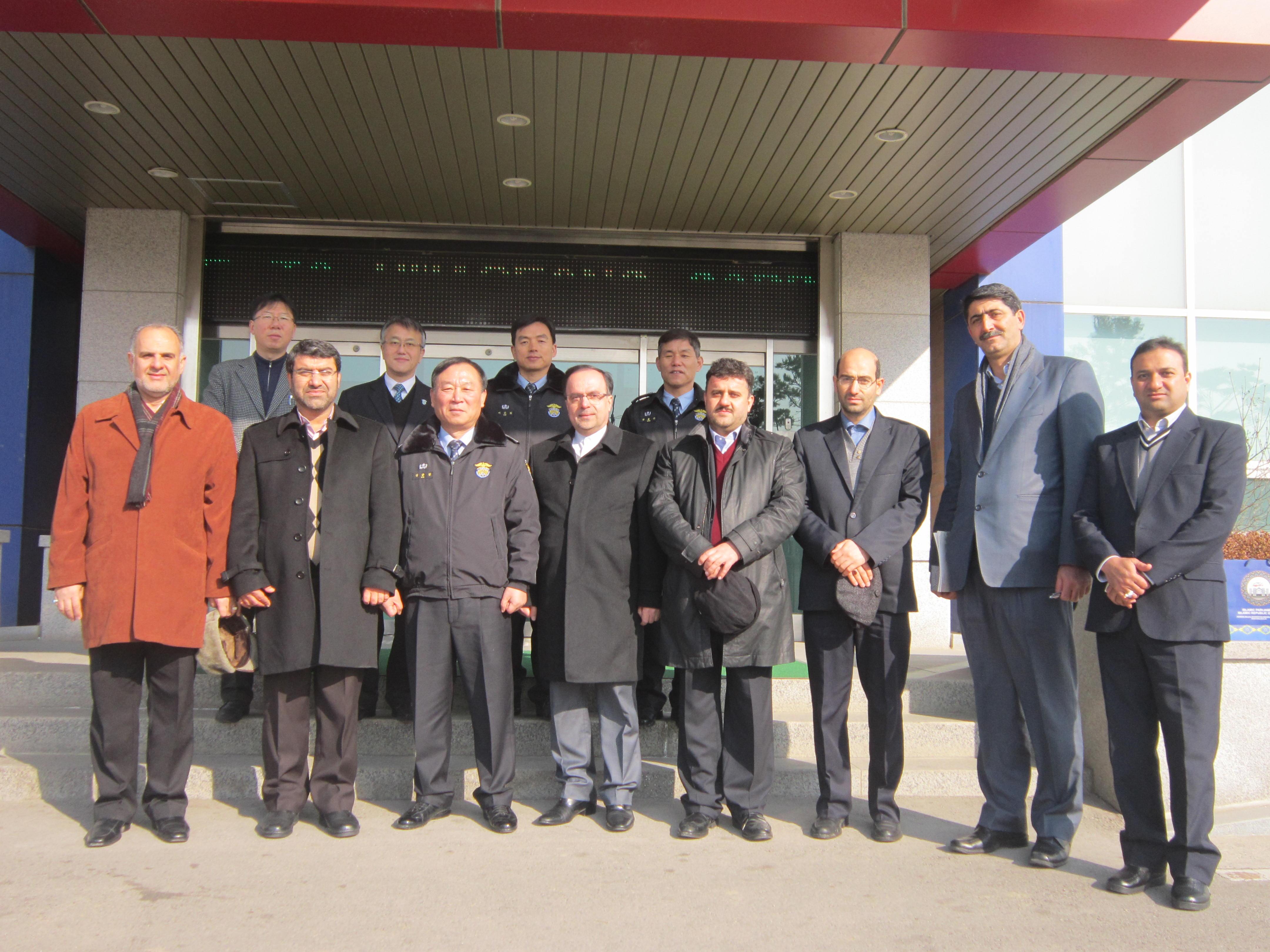 دیدار ابوترابی و هیات کمیسیون قضایی مجلس با همتایان کره ای