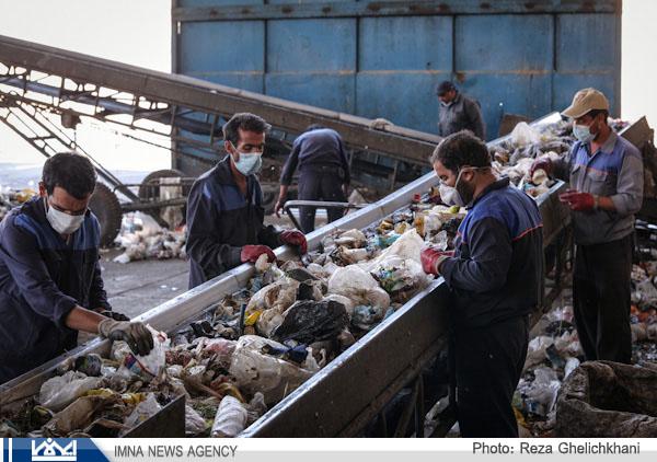 ۹۴۴هزار تن ماده بازیافتی در زباله های خانگی