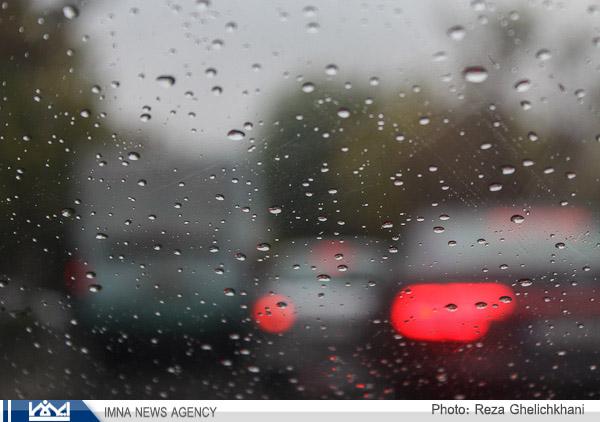 گزارش تصویری باران بهاری در نجف آباد