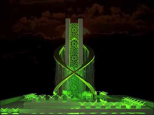 طرح نهایی المان میدان بسیج نجف آباد انتخاب شد