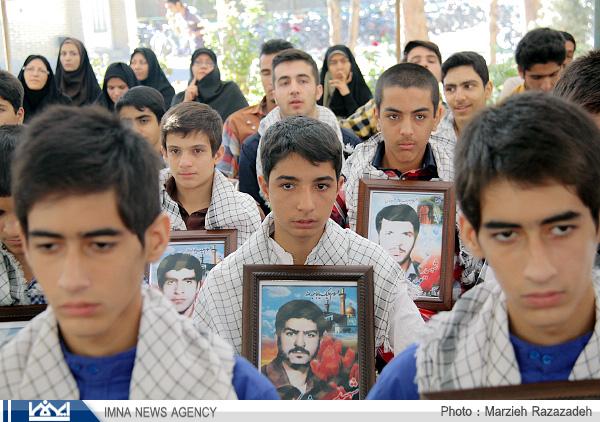 دبیرستانی در نجف آباد با ۲۳۴  شهید دبیرستانی در نجف آباد با 234 شهید دبیرستانی در نجف آباد با 234  شهید                               6