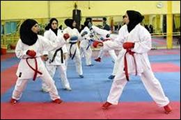 رقابت هزار بانوی کاراته کار در نجف آباد رقابت هزار بانوی کاراته کار در نجف آباد رقابت هزار بانوی کاراته کار در نجف آباد
