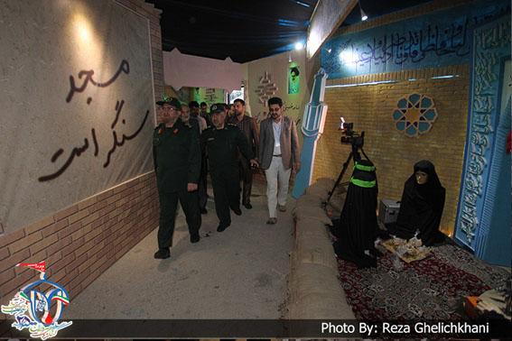 اعلام ساعات بازدید از نمایشگاه اجلاسیه شهدا در نجف آباد