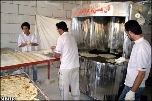 نانوایی نامشخص نامشخص بودن قیمت نان کنجدی در نجف آباد                300x200