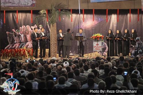 اجرای زنده کلیپ نجف آباد توسط محمد گلریز