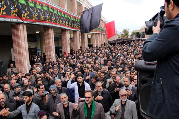 گزارش تصویری از عاشورای ۹۳ نجف آباد