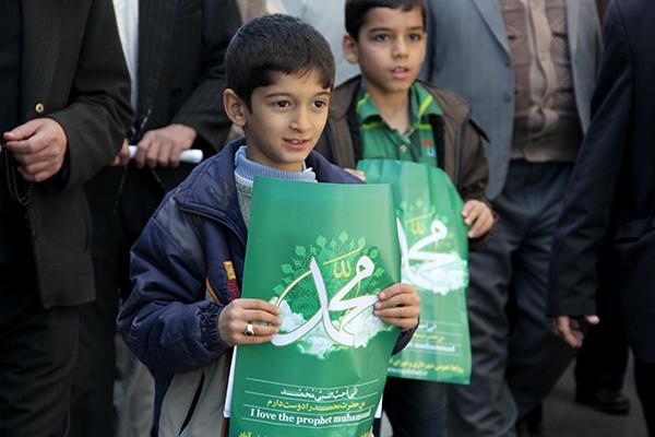 من عاشق محمد(ص)هستم