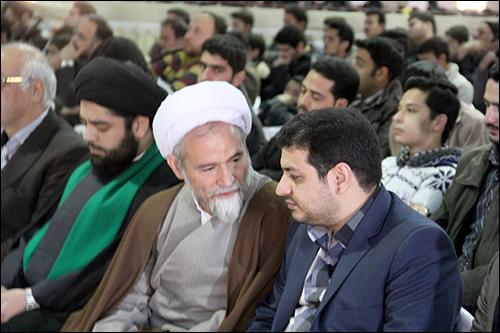 سخنرانی رائفی پور در حسینیه حضرت فاطمه الزهرا نجف آباد