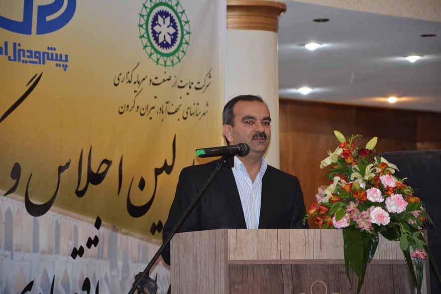 رئیس هیات مدیره پیشرو دیزل آسیا اولین نامزد صنعتگران غرب استان در اتاق بازرگانی