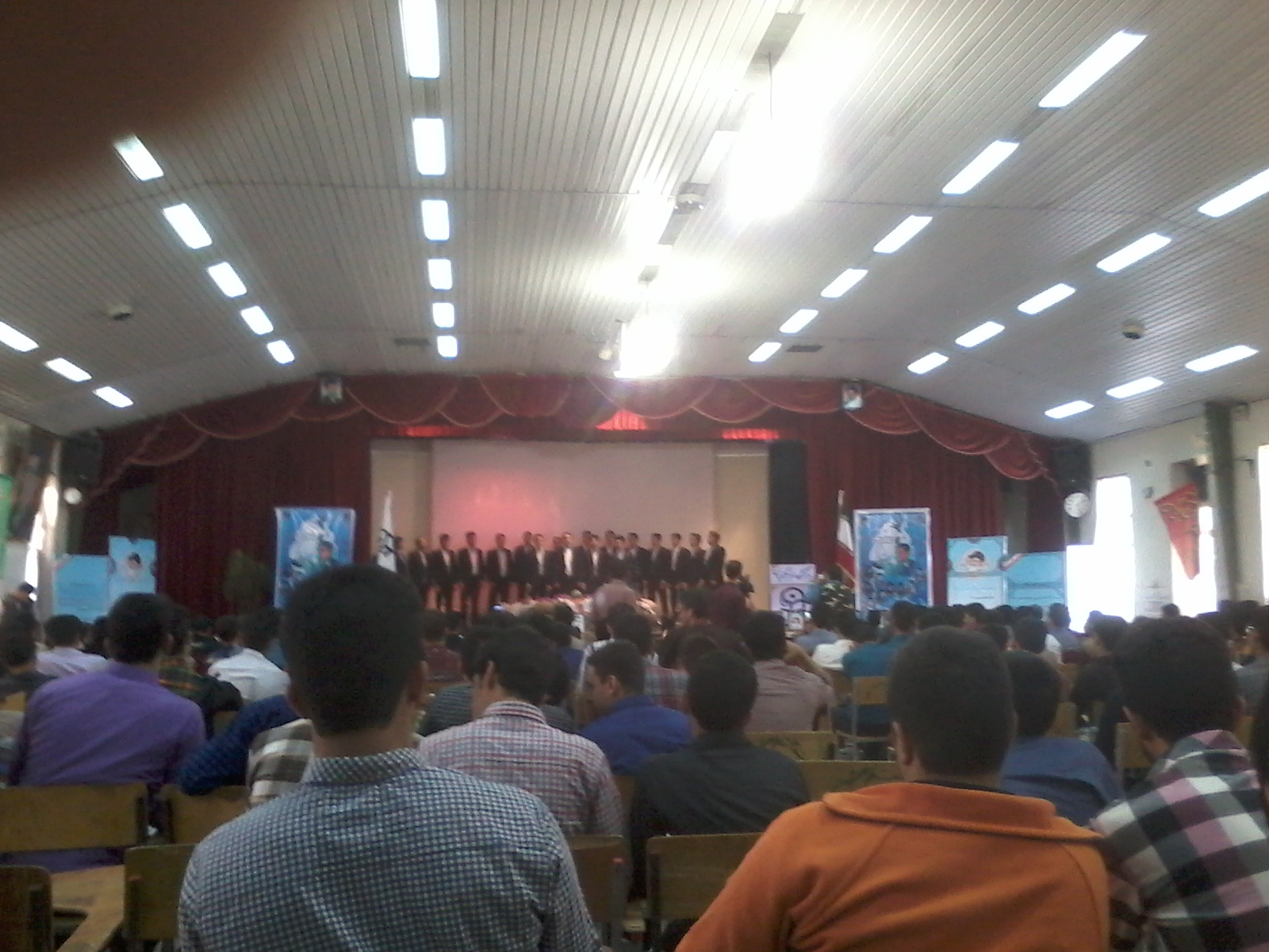 برگزاری مراسم گرامیداشت شهدای مرکز تربیت معلم شهید آیت نجف آباد