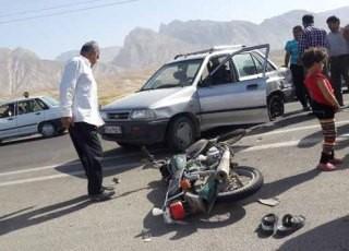 رتبه سوم نجف آباد در تصادفات موتوری