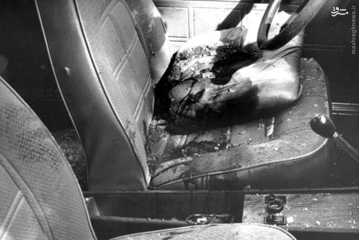 نمایی از داخل اتومبیل حامل شهید دکتر سید حسن آیت پس ازترور افشاگری نماینده نجف آباد در مورد رجوی و موسوی+فیلم و عکس افشاگری نماینده نجف آباد در مورد رجوی و موسوی+فیلم و عکس 1155488 242