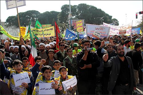 اعلام برنامه های ۱۳آبان در نجف آباد