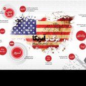 اینفوگرافیک/ زمینههای شکلگیری شعار مرگ بر آمریکا