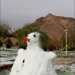 برف نوبرانه نجف آباد+تصویر برف نوبرانه نجف آباد+تصویر        1 150x150