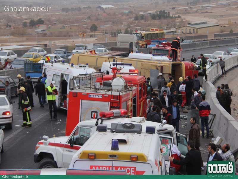 گزارشی تصویری از فاجعه اتوبوس دانشگاه آزاد نجف آباد گزارشی تصویری از فاجعه اتوبوس دانشگاه آزاد نجف آباد گزارشی تصویری از فاجعه اتوبوس دانشگاه آزاد نجف آباد                         7