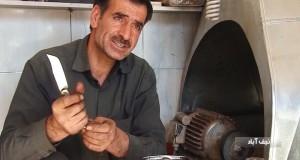 چاقوهای هنرمندان نجف آباد زینت بخش غرفه صنایع دستی موزه لوور فرانسه