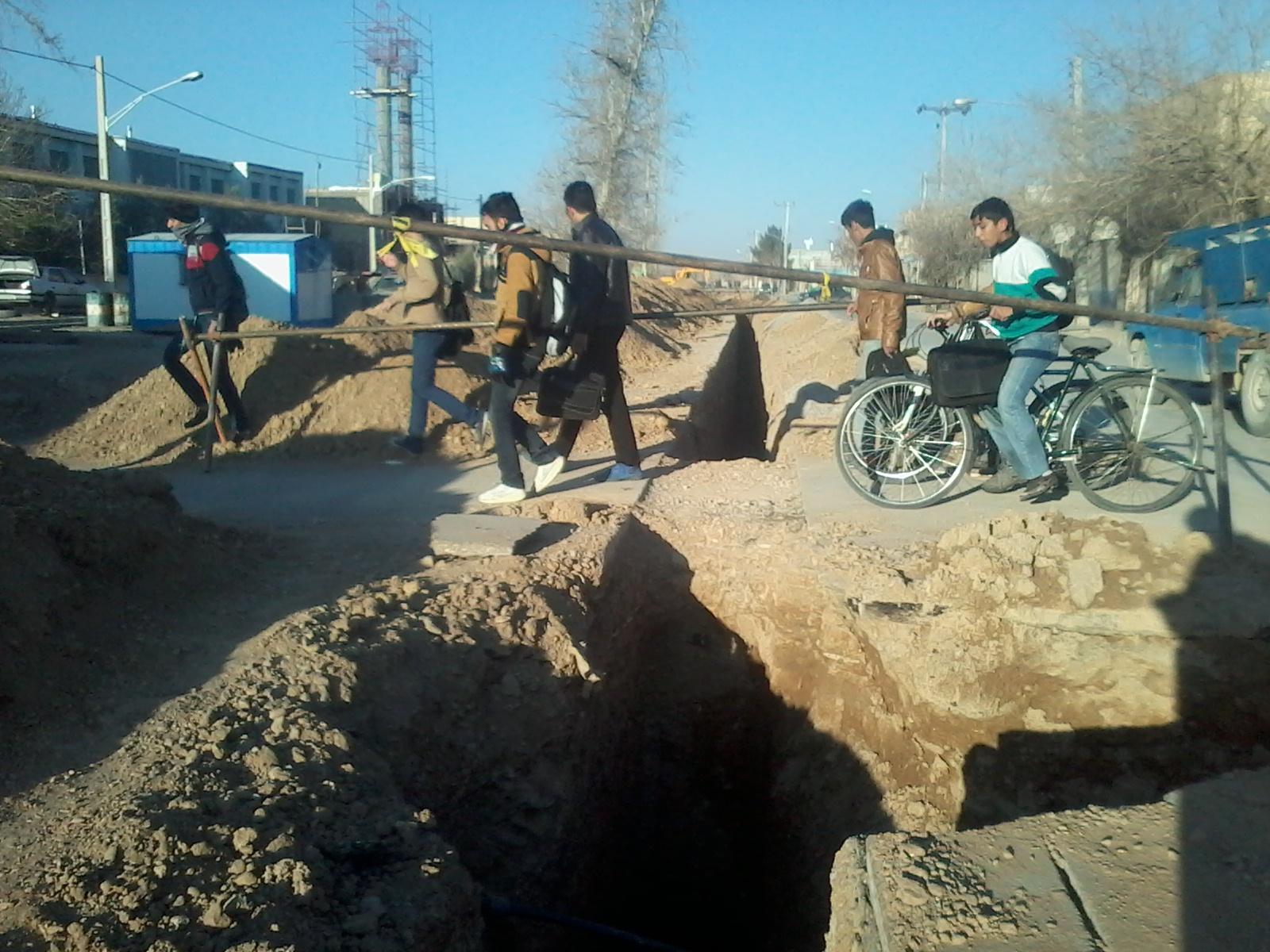 سرعت لاک پشتی فاضلاب در نجف آباد