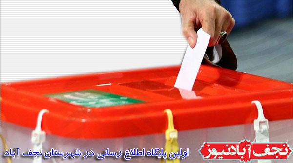 آخرین اخبار  شمارش آرای انتخابات حوزه انتخابیه نجف آباد،تیران و کرون