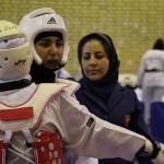 مبارزه دختران تکواندو کار در دانشگاه آزاد نجف آباد + تصاویر مبارزه دختران تکواندو کار در دانشگاه آزاد نجف آباد + تصاویر                             17 150x150