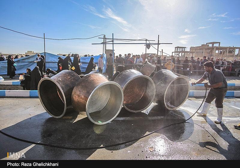 سمنو پزان در نجف آباد+تصاویر