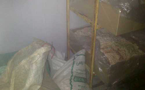 کشف ۲۰ تن دُنبه غیر بهداشتی در نجف آباد+ تصاویر