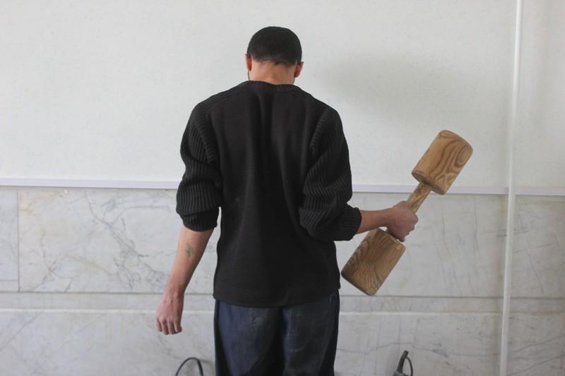 دستگیری یکی از عوامل تعرض به المان های نجف آباد+ تصویر