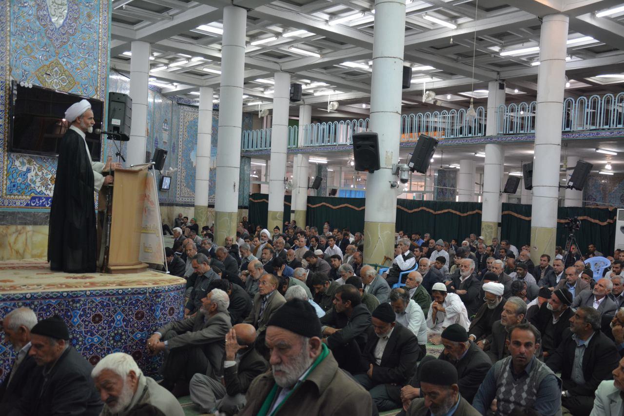 نماز جمعه مورخ ۲۰ فروردین نجف آباد+فایل صوتی