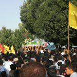 تشییع اولین شهید فاطمیون در نجف آباد+ تصاویر تشییع اولین شهید فاطمیون در نجف آباد+ تصاویر                                    7 150x150