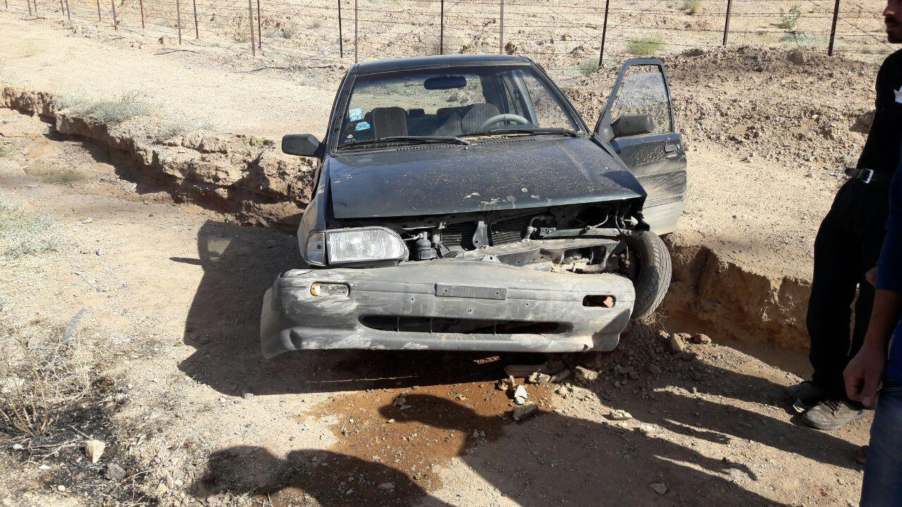 تصادف مرگبار در محور نجف آباد
