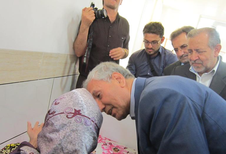 افتتاح یک بیمارستان در نجف آباد