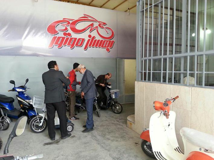 تولید اولین موتور سیکلت کاملا ایرانی در نجف آباد
