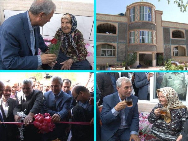 افتتاح اولین فاز دهکده سالمندان نجف آباد؛عمل خیر ۱۰ میلیارد تومانی+ فیلم