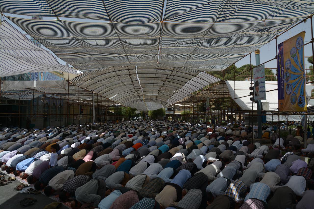 نماز جمعه ۴ تیرماه ۱۳۹۵ نجف آباد