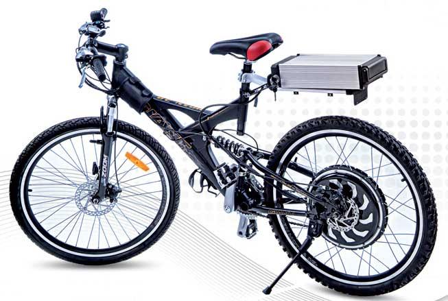 رونمایی از دوچرخه برقی دانشگاه آزاد