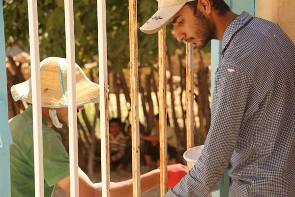 اعزام ۳۸۰ جهادگر بسیجی از نجف آباد